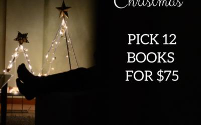 12 Books of Christmas Bundle – $75