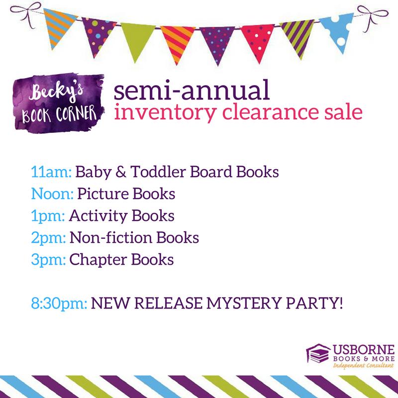 usborne book sale