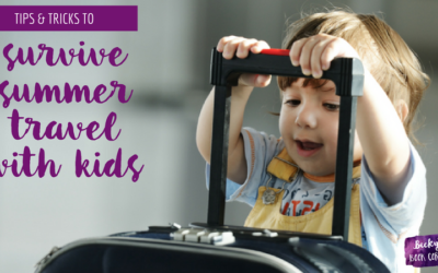 Survive Summer Travel with Kids