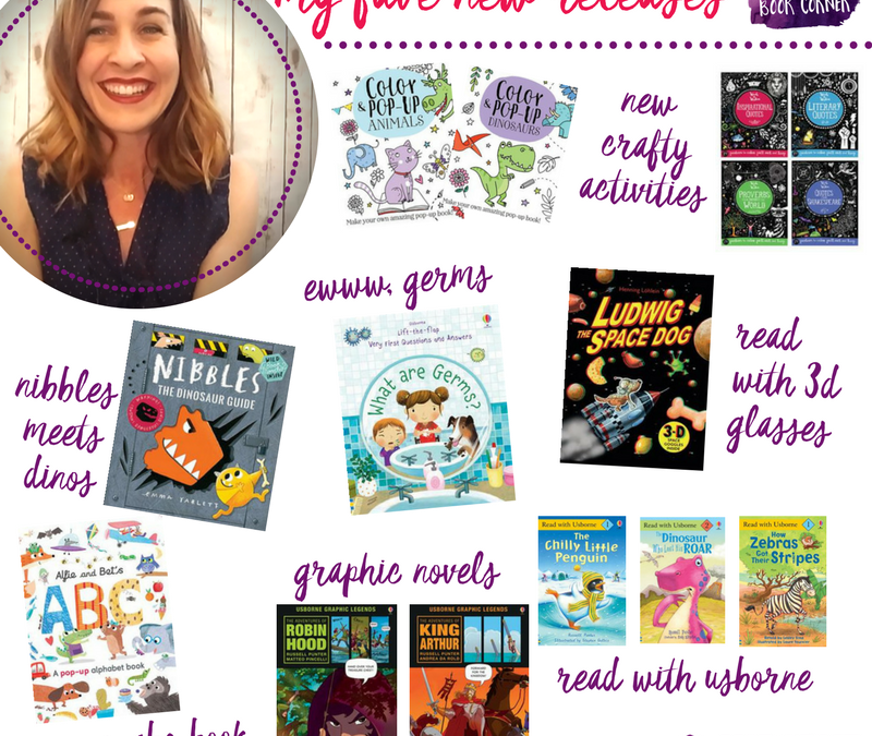 New Books from Usborne Books & More – yipeeee!!!